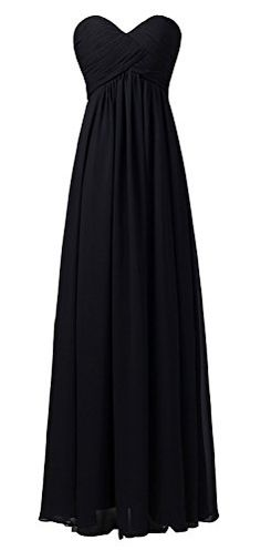 Ouman Sweetheart Bridesmaid Chiffon Prom Dress Long Evening Gown Black XS Ouman http://www.amazon.com/dp/B00T33AOMO/ref=cm_sw_r_pi_dp_7Pq3vb1R354MM