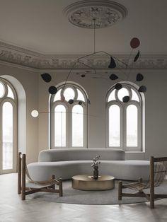 Beige Apartment by Emil Dervish and Evgeniy Bulatnikov | est living