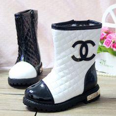 Kids fashion | Chanel Boots @Nora Griffin Griffin saenz