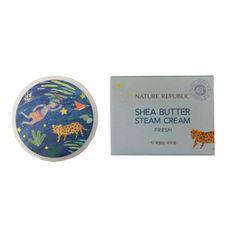 Korea Cosmetic Nature Republic Shea Butter Steam Cream Fresh 100ml (3.38oz)…
