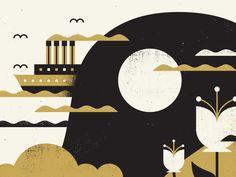 Plants & Animals Tour Poster by Doublenaut #Design Popular #Dribbble #shots