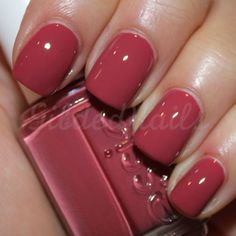 Essie - Raspberry Red.
