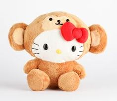 Hello Kitty 8 Safari Plush: Monkey