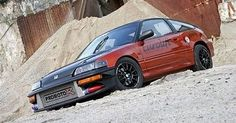Honda Crx, Rally Car, Jdm, Project Ideas, Cars, Vehicles, Classic, Derby, Ideas For Projects