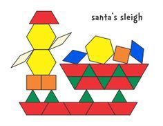Jessicas Pattern Block Mats Printables Free  Kinderland