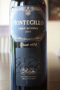 2003 Bodegas Montecillo Gran Reserva - Older and Much, Much Wiser. $17, read the rest!