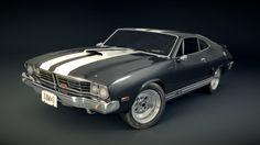 Car model : Thor (Ford Falcon) (Blender 3D) by ~TomWalks on deviantART