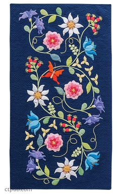 Euphoria Tapestry Quilts is based on a beautiful quilt designed by Deborah Kemball, and you will be amazed at how many different projects you can make from it.