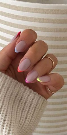 nail art designs for spring * nail art designs ; nail art designs for spring ; nail art designs for winter ; nail art designs with glitter ; nail art designs with rhinestones Blue Acrylic Nails, Purple Nail, Square Acrylic Nails, Ombre Nail, Black Nails, White Short Nails, Short French Nails, Bright Summer Acrylic Nails, Pastel Nail Art