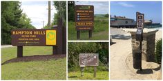 Parks & Recreation sign applications made with King ColorCore®.