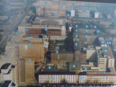Map of Stasi Headquarter - Stasimuseum