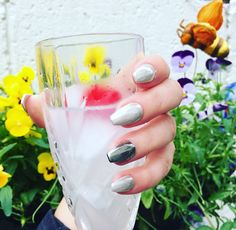 All You Need To Know About Mirror Nails from Velvet Beauty Mirror Nails, Salons, Alcoholic Drinks, Hair Beauty, Velvet, Lounges, Liquor Drinks, Alcoholic Beverages
