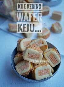 Discover recipes, home ideas, style inspiration and other ideas to try. Wafer Cookies, Biscuit Cookies, Biscuit Recipe, Cokies Recipes, Snack Recipes, Snacks, Kinds Of Cookies, Baking And Pastry, Indonesian Food