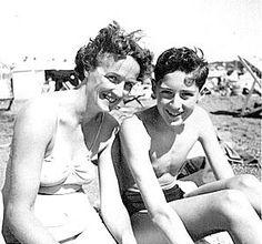 Brian May & his mother Ruth (born Brian Harold May in Hampton, London, England 1947)