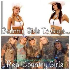 "This should say ""to city guys"" cause the real country boys don't have fake standards. And they know what they are getting into! Lol! :)"