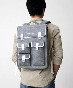 Ashen Backpack   dotandbo.com.  Another cool gift idea for the guys ( or the gals cuz I'm really liking this, too!) that's nice looking & practical in our fast-paced society!