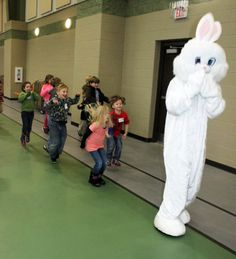 The Easter Bunny visited Beech!