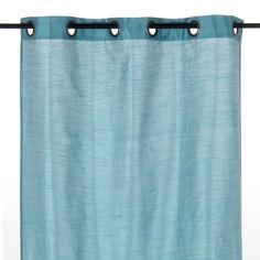 Rideau à œillets 130x250cm bleu Bleu - Bagera - Les rideaux - Textiles et tapis - Salon et salle à manger - Décoration d'intérieur - Alinéa