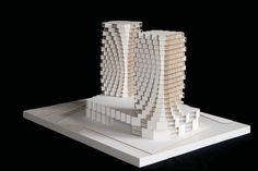 Architectural Model - Höweler + Yoon Architecture - Emporium Towers