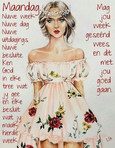 Monday Wishes, Lekker Dag, Evening Greetings, Goeie More, Afrikaans Quotes, Special Images, Special Quotes, Morning Quotes, Strapless Dress