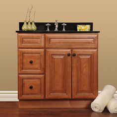 Important Aspects from the Best Bathroom Vanity Cabinets : Walnut Bathroom Cabinets Vanities Ideas