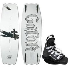 Gesenkt von 1029€ auf 333€!!  The GATOR is the highest end wakeboard we have ever developed. The Gator is full of features that are more than just gimmicks. Features such as the Adjustable Track Control System and Air Cell Core all come together to make one of the best riding boards out. The aggressive 3-stage rocker sets the stage for massive pop with the ATCS allowing you to change up the ride and the Air Cell Core makes for one of the lightest boards out today.