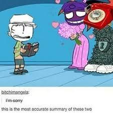 Bildergebnis für fnaf purple guy x phone guy kiss