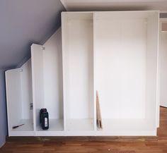 DIY: Ikea-hack til indbygget skab - Forstadsdrømme.dk
