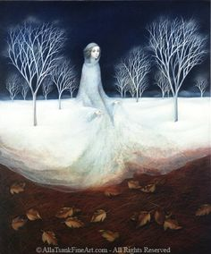 Winter Queen by All Tsank... incredible painter...