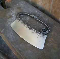 hand-forged herb chopper