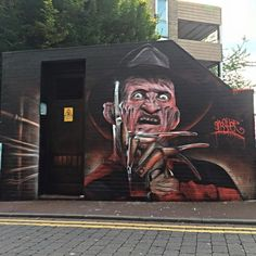 Legal graffiti in and around London