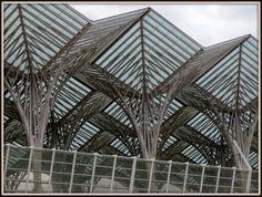 Gare do Oriente, Parque das Nações - Lisboa, Portugal.
