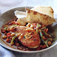 Moroccan Style Braised Chicken and Chickpeas @ allrecipes.com.au