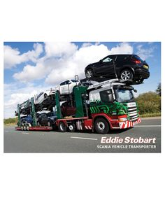 Scania Vehicle Transporter A3 Poster