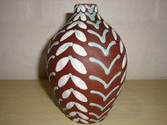 Joska vase. År/year 1940-50s. #Joska #vase #keramik #ceramics #pottery #danishdesign #nordicdesign #klitgaarden. SOLGT/SOLD from www.klitgaarden.net.