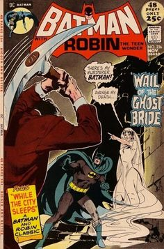The one that started it all. Batman focuses on the rise of the famous Batman and his influence on Gotham City as he fights the most devilish of villains and stops the most dastardly plans. It spanned from 1940-2011.
