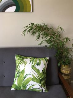 A personal favourite from my Etsy shop https://www.etsy.com/uk/listing/538160793/cushion-cover-in-chivasso-jungle-like