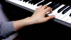 pianolesson21  5本の指のトレーニング 左手編