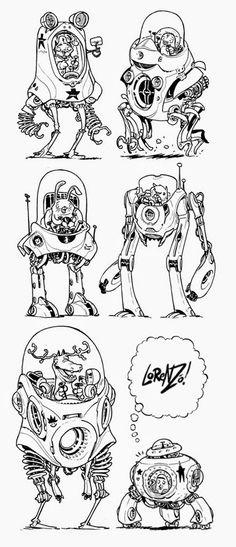 The Etherington Brothers: Robot Walker Week Part 2/5