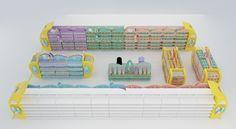 Ambientação digital 3D espaço bebê l detalhamento de materiais e dimensional