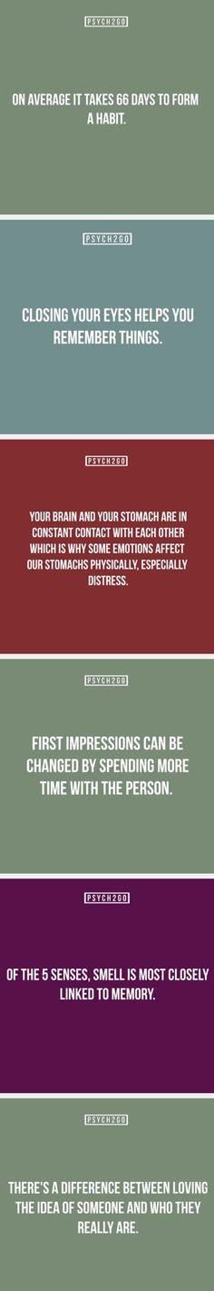 Psychology stuffs
