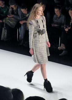 Irina Schrotter - Fall/Winter 2013/2014 - Mercedes Benz Fashion Week - http://olschis-world.de/  #IrinaSchrotter #Womenswear #Fashion