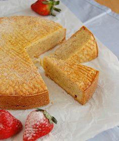 Hazelnut Gâteau Breton / Gâteau Breton de avelã by Patricia Scarpin, via Flickr