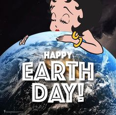 Fashion, wallpapers, quotes, celebrities and so much Betty Boop, Animated Cartoon Characters, Happy Earth, Paramount Pictures, Earth Day, Arrow, Pin Up, Celebrities, Fictional Characters