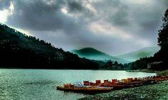 Bhimtal lake, India