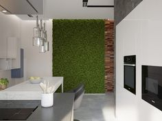 Кухня в современном итальянском стиле (частный дом). Кухня
