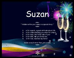 Suzan - Name Meaning | Hidden Story