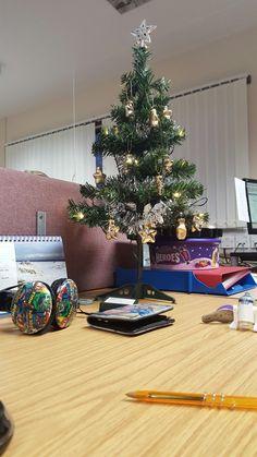 Christmas 2015 at my desk at work.
