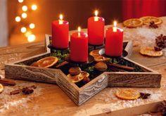 Advent Candles. Via livingathome.de