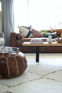 Pretty living room of Dana Miller